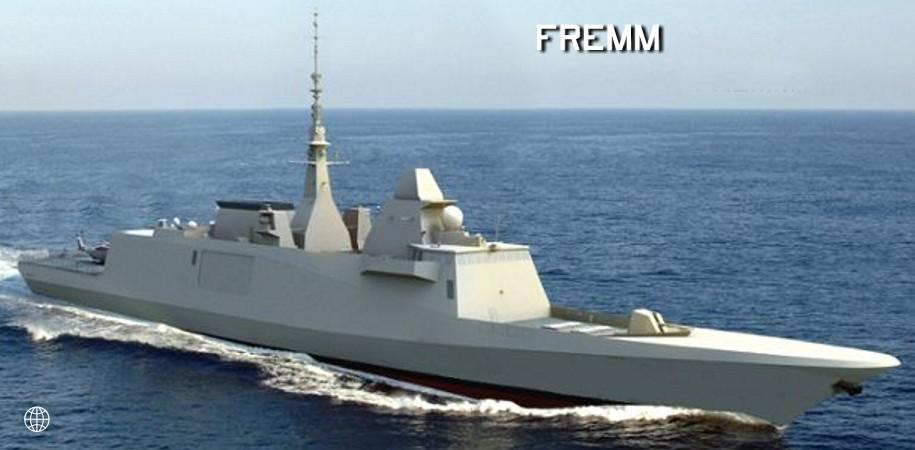 O projeto da fragata FREMM  é um dos concorrentes ao Prosuper.