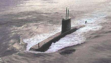 Submarino Tupi da Marinha do Brasil